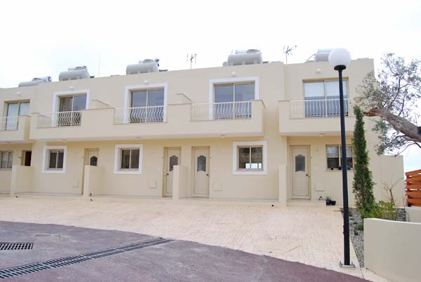 Townhouses with amazing views over Paphos