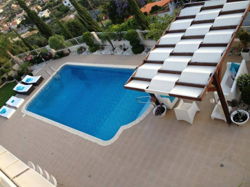 Luxury villa with amazing view in Tala