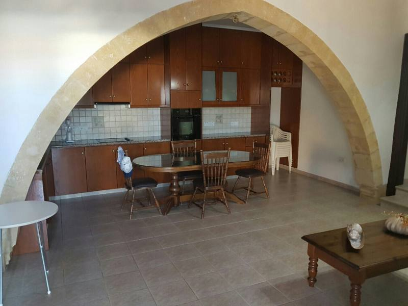 3 bed traditional house in Pachna for long term rent