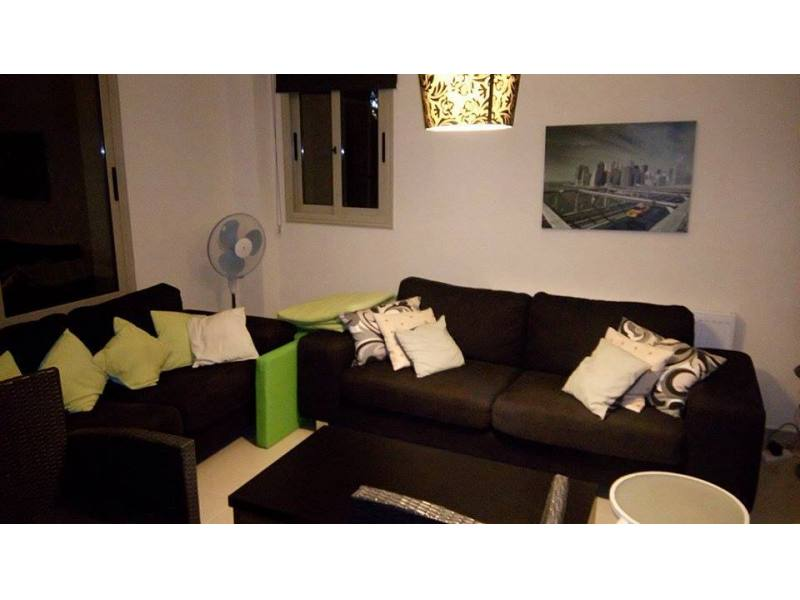 Furnished 3 bed villa for rent in Coral bay