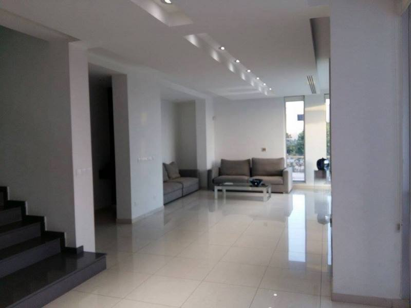 modern House for long Term rent in Anavargos area with central heating close to international school