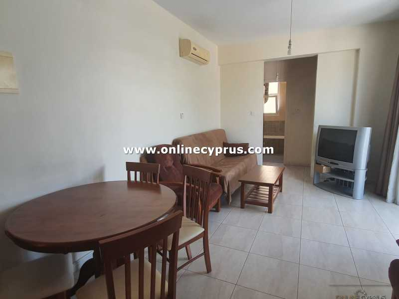Furnished 1 bed apartment