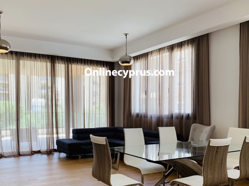 3 Bedrooms Modern Apartment in Limassol