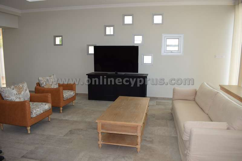 Brand new luxury villa furnished