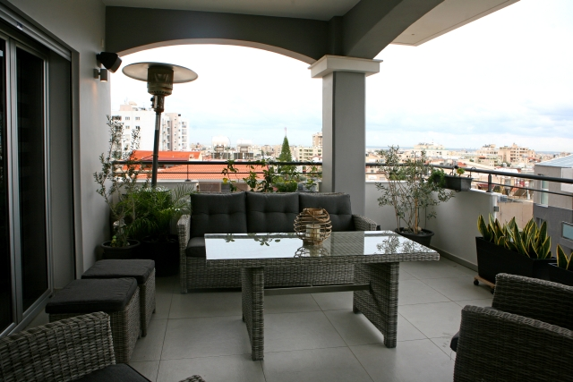 Luxury penthouse in Limassol for long term rent