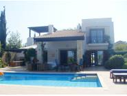 Furnished villa with central heating in Aphrodite Hills