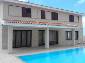 4 bedroom modern villa with central heating for long term rent