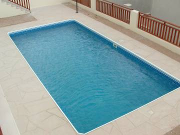 3 bedroom unfurnished house with private pool