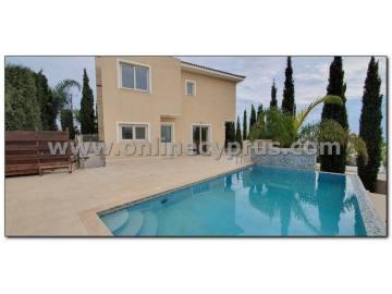 3 bed plus apartment modern villa In Peyia